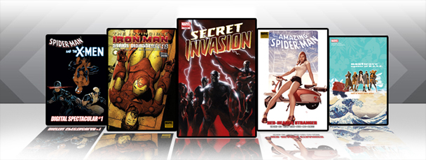 Marvel iPad/iPod App: Latest Titles 1/26/11