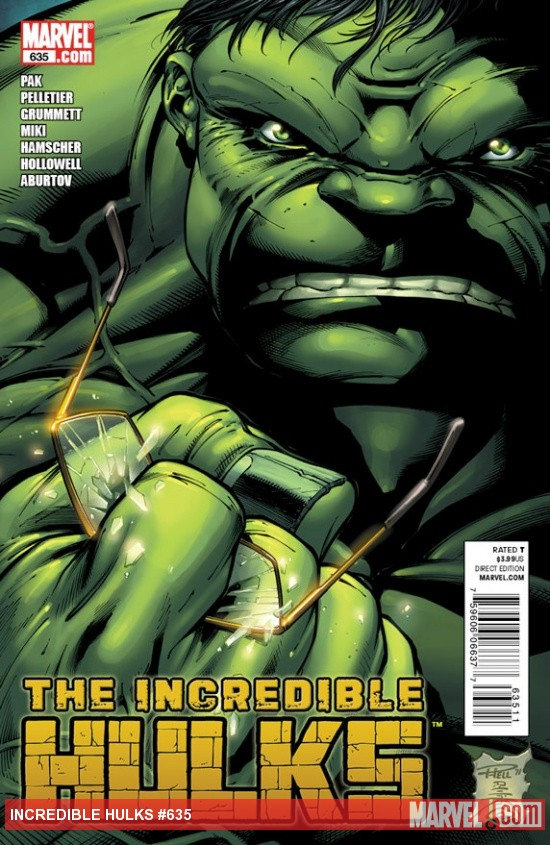Incredible Hulks #635 Cover by Paul Pelletier