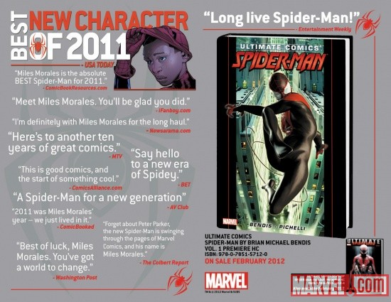 Ultimate Comics Spider-Man – The Best New Character of 2011!