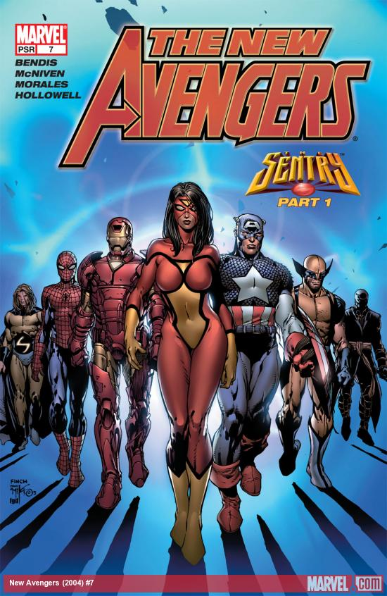 New Avengers (2004) #7