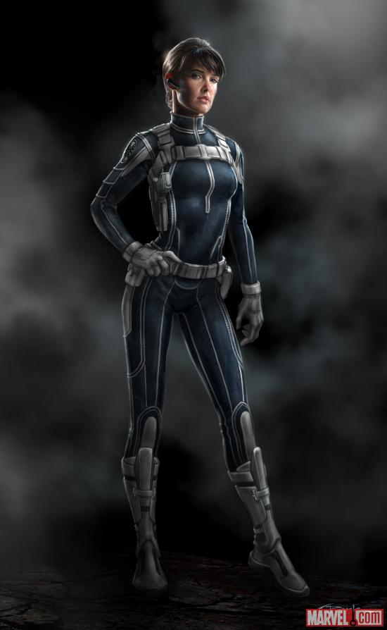 Maria Hill by Andy Park