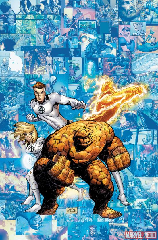 Fantastic Four #611 Cover