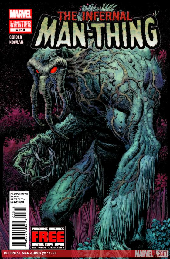 INFERNAL MAN-THING 3 (WITH DIGITAL CODE)