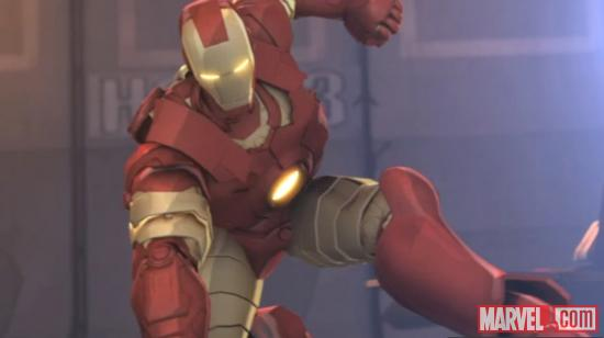 Screenshot from Marvel's Iron Man &amp; Hulk: Heroes United