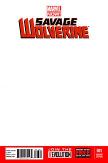 Savage Wolverine (2013) #1 (Blank Cover Variant)