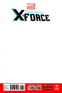 Uncanny X-Force (2013) #1 (Blank Cover Variant)
