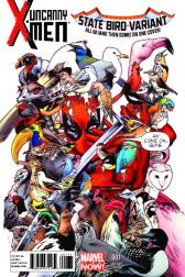 UNCANNY X-MEN #1  (Deadpool 53 State Bird Variant)