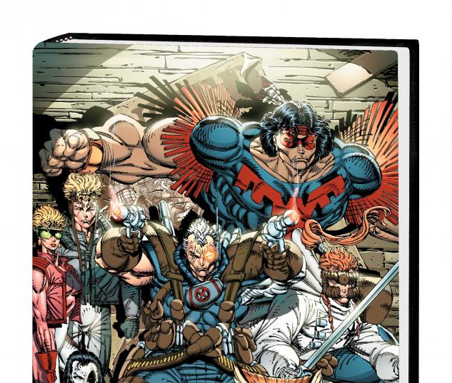 X-FORCE OMNIBUS VOL. 1 HC VARIANT COVER (DM ONLY)