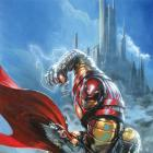Thor: God of Thunder (2012) #7 Dell'otto Iron Man Many Armors Variant Cover