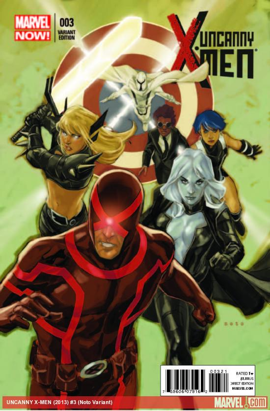 UNCANNY X-MEN 3 NOTO VARIANT