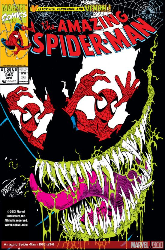 Amazing Spider-Man (1963) #346 Cover