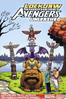 Lockjaw and the Pet Avengers Unleashed #1  (VARIANT)