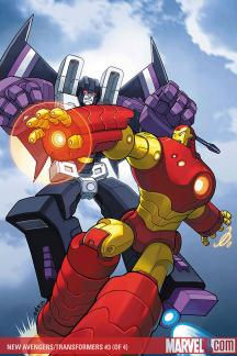 New Avengers/Transformers #3