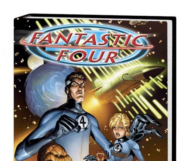 FANTASTIC FOUR VOL. 1 HC COVER