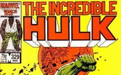 Incredible Hulk #329 cover