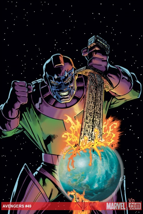 Kang conquers Earth
