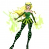 Final color art of the Enchantress from The Avengers: Earth's Mightiest Heroes!