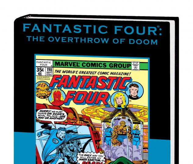 FANTASTIC FOUR: THE OVERTHROW OF DOOM PREMIERE HC