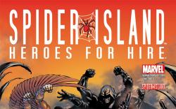 Spider-Island: Heroes for Hire (2011) #1 cover