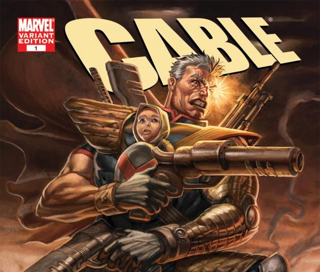 Cable (2008) #1, Variant