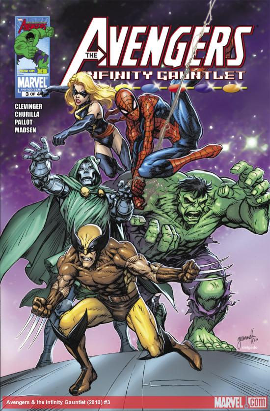 Avengers & the Infinity Gauntlet (2010) #3