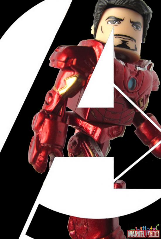 Marvel's The Avengers Iron Man Minimates Poster