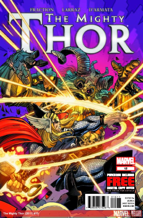 THE MIGHTY THOR 15 (WITH DIGITAL CODE)