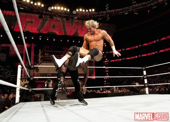 Dolph Ziggler on WWE Monday Night Raw