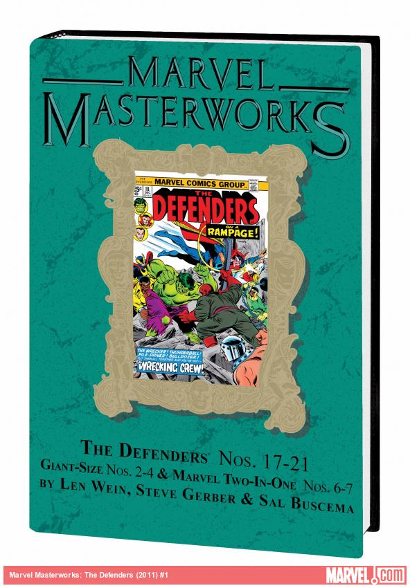 MARVEL MASTERWORKS: THE DEFENDERS VOL. 3 HC VARIANT (DM ONLY)