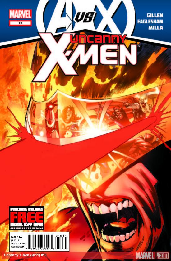 UNCANNY X-MEN 19 (AVX, WITH DIGITAL CODE)