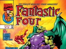 Fantastic Four (1998) #19 Cover