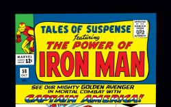 Tales of Suspense (1959) #58 Cover