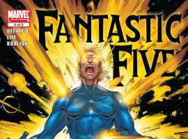 Fantastic Five (2007) #4