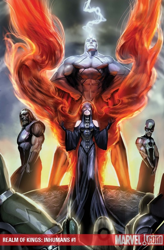 Realm of Kings: Inhumans #1 cover by Stjepan Sejic