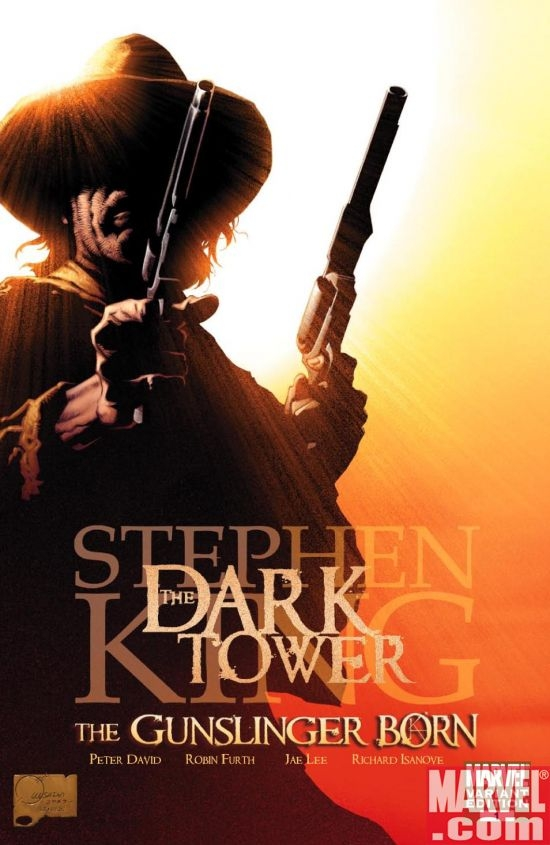 Dark Tower: The Gunslinger Born Art by Joe Quesada