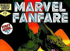 MARVEL FANFARE #1 cover