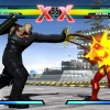 Screenshot of Nemesis vs. Iron Man from Ultimate Marvel vs. Capcom 3