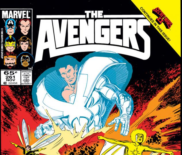 Avengers (1963) #261 Cover