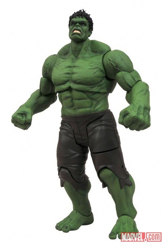 Marvel Select Hulk figure from the Avengers movie collection