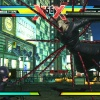 Nemesis and Viewtiful Joe in Ultimate Marvel vs. Capcom 3 for the PlayStation Vita