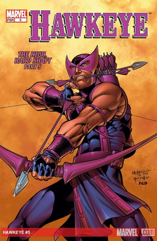 Hawkeye (2003) #5