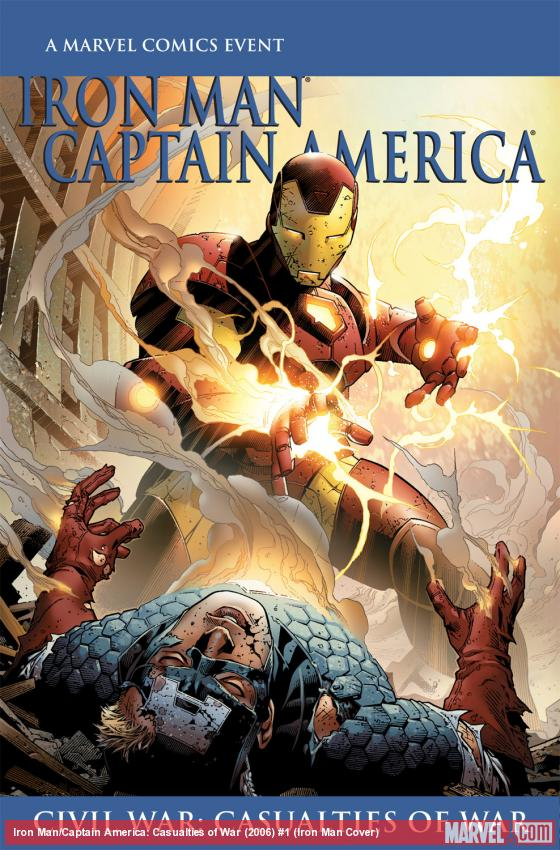 Iron Man/Captain America: Casualties of War (2006) #1