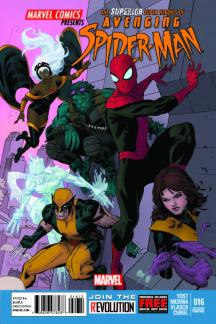 Avenging Spider-Man (2011) #16 (2nd Printing Variant)