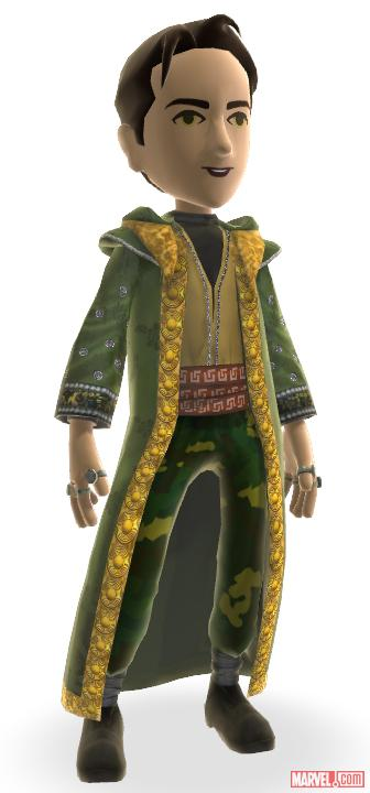 The Mandarin's robes, now available in the Xbox LIVE Marketplace
