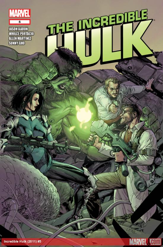 Incredible Hulk (2011) #5