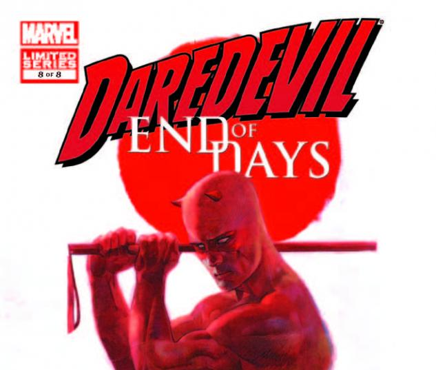 DAREDEVIL: END OF DAYS 8 (WITH DIGITAL CODE)