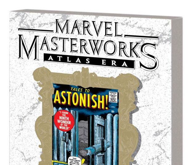 MARVEL MASTERWORKS: ATLAS ERA TALES TO ASTONISH VOL. 1 TPB VARIANT (DM ONLY)
