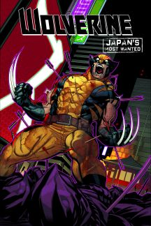 Wolverine: Japan's Most Wanted Infinite Comic (Hardcover)