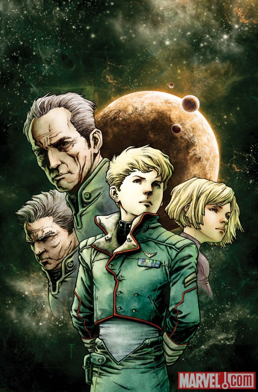 ORSON SCOTT CARD'S ENDER IN EXILE #1 (of 5) cover by Sebastian Fiumara