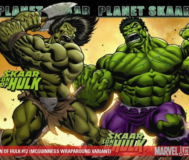 SON OF HULK #12 (MCGUINNESS WRAPAROUND VARIANT)